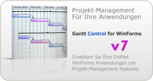 KS-Gantt Control für DotNet Windows Forms Anwendungen