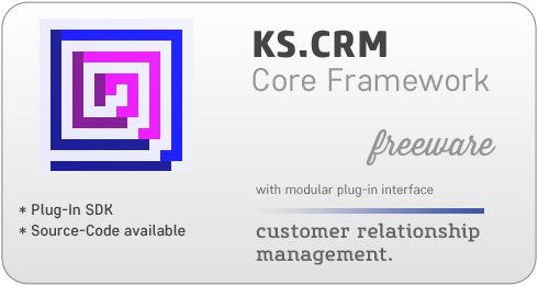 KS.CRM 2013 - Customer Relationship Management with PlugIn Interface.