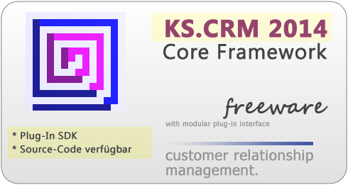 KS.CRM 2013 - Customer Relationship Management mit PlugIn Interface.