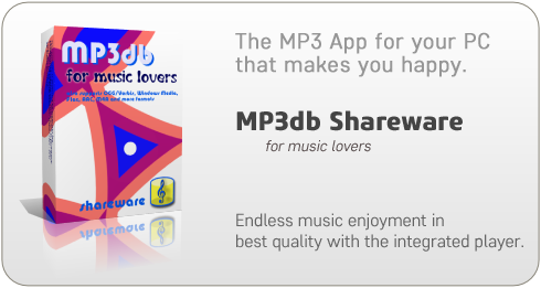 Organize your MP3 files in a database.