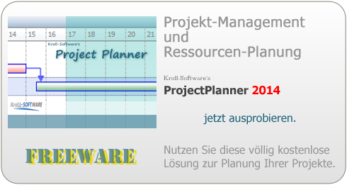 ProjectPlanner 2014 FreeWare